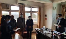 मञ्जुश्री फाइनान्सको अध्यक्ष इन्दिरा पन्डित घिमिरेद्धारा सपथ ग्रहण